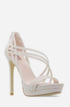 Shawnette White Heel