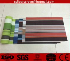 PVC coated polyester place mats