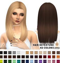 Miss Paraply: Nightcrawler's New Yorker hairstyle retextured  - Sims 4 Hairs - http://sims4hairs.com/miss-paraply-nightcrawlers-new-yorker-hairstyle-retextured/