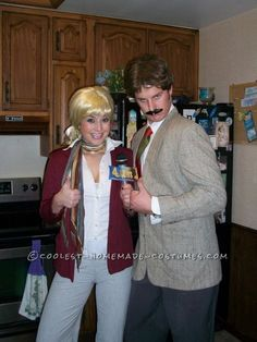 Top 13 Last Minute Halloween Costume Ideas for Couples -- anchorman