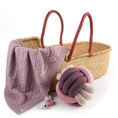 """In spring, when it is warm and sunny, prams covers are removed and changed for blankets. We did our best to make this blanket """"Rhombuses"""" a stylish and cozy decoration of your walk with your baby in a pram. Wool Baby Blanket, Baby Boy Or Girl, Prams, Baby Room Decor, Snuggles, Sunnies, Straw Bag, Blankets, Cozy"""