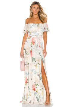 online shopping for Carmen Maxi Yumi Kim from top store. See new offer for Carmen Maxi Yumi Kim Michael Costello, Rachel Zoe, Maxis, White Maxi Dresses, Summer Dresses, Floral Dresses, Long Dresses, Jupe Short, Off Shoulder Fashion