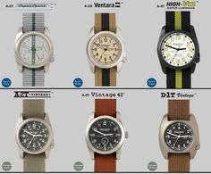Bertucci Performance Field Watches - Watches