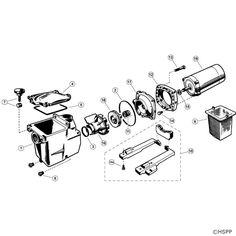 Hayward Super Pump SP 2600X Pump Series (Max rated)