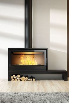 20 models of fireplace or wood stove – # at …- 20 modèles de… – Freestanding fireplace wood burning Metal Fireplace, Freestanding Fireplace, Fireplace Hearth, Home Fireplace, Modern Fireplace, Fireplace Ideas, Modern Wood Burning Stoves, Wood Stoves, Contemporary Fireplace Designs