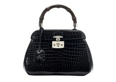 Hottest bags for Fall 2013! Gucci Crocodile leather Lady Lock bag.