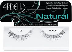 Ardell Natural Lash - Black 108, $2.99