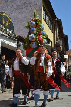 Ramo de las Fiestas de La Magdalena, Llanes.