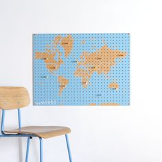 JOURNEY for July: World Pegboard by Bloc Design