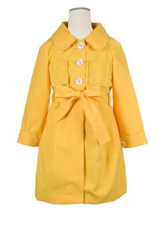 Hucklebones SS13 Buttercup Raincoat