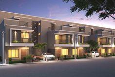 bangalore architects - Penelusuran Google Town House, Architects, Mansions, House Styles, Google, Home Decor, Houses, Decoration Home, Terraced House