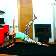 """ Workout ABS #sixpack  . ✳ 4 ejercicios #abs lateral ✳ 5 series. ✳ 20 repeticiones. ✳ Descanso entre serie 45seg.  ℹ Principiantes: 3 series .…"""