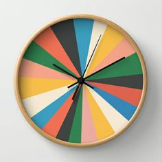 It's Always The Sun Wall Clock by Galitt