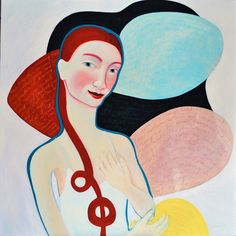 Layers of Reality (Creation) - painting by Clare Galloway