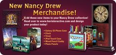 New Nancy Drew merchandise added to our store!