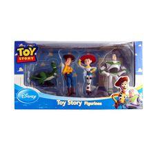 Disney Toy Story Figure Playset (4 Piece). Disney Themed Figurines.  Includes Rex 641570b2e95