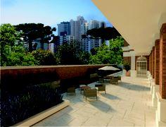 INFRAESTRUTURA  Salão de Jogos  Espaço Gourmet  Fitness  Espaço Zen  Spa com Sauna  Miniquadra Poliesportiva  Office