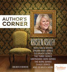 Podcast interview with the original Rock Chick...Kristen Ashley! #RockChicksUnite