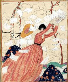 Georges Lepape, Vogue Cover 1928