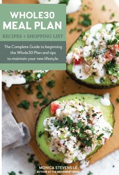 A Whole30 meal plan that's quick & easy! Easy, healthy and delicious meals (breakfast, lunch and dinner included!) Whole30 recipes for you!