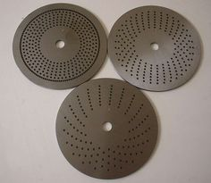 3 UNIQUE Lathe or Milling Index Plates.