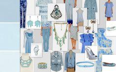 color blue scheme style