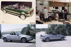 1990 Volvo 480 Cabrio Concept