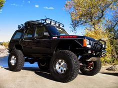 jeep cherokee xj rescue vehicles
