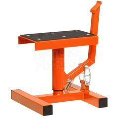 Race FX Single Pillar Bike Stand - Orange