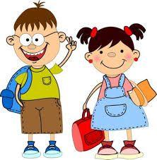 Resultado de imagen de clipart school children