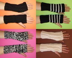 J'ai commencé par une simple paire de mitaines au point mousse pour ma fille et de là, j'ai eu envie d'essayer avec différents points, différentes couleurs, d'où ce petit nombre de mitaines. Impossible d'arrêter de tricoter des mitaines… ils vont être...