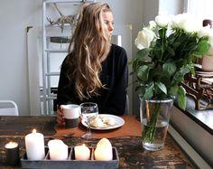 candles + breakfast // @emilyydan