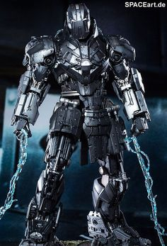 Iron Man 2: Whiplash Mark II - DieCast, Deluxe-Figur (voll beweglich) ... https://spaceart.de/produkte/spa015.php