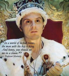 Jim in a crown - jim-moriarty Fan Art