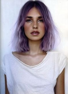 30 Lavender Hair and Purple Hair Styles - Part 3 Grunge Hair, Grunge Bob, Pretty Hairstyles, Bob Hairstyle, Scene Hairstyles, Latest Hairstyles, Medium Hairstyles, Summer Hairstyles, Dark