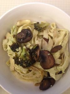 Vegan broccoli pesto, eat drink and save money blog