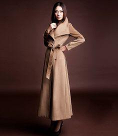 Ladies Long Cashmere Coats - Coat Nj