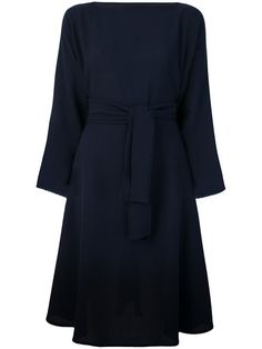 Daniela Gregis belted flared dress