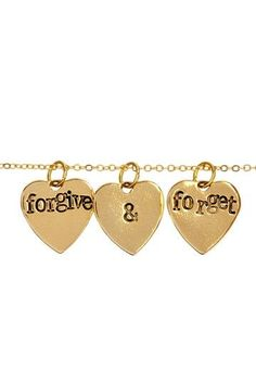 Forgive & Forget Necklace.