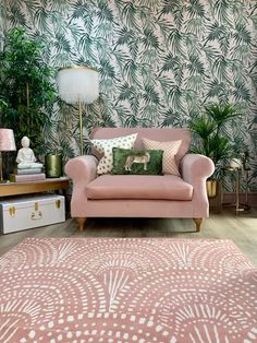 Home styling Home decor Interior styling Interior design Blush Living Room, Art Deco Living Room, Art Deco Bedroom, Living Room Green, Green Rooms, Bedroom Green, Bedroom Decor, Living Rooms, Zen