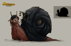 snail concept art - Google Search