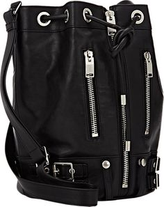 Saint Laurent Rider Bucket Bag -  - Barneys.com