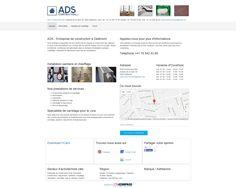 ADS Construction Sàrl, Delémont, Jura, maçonnerie, sanitaire, chauffage