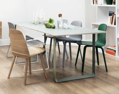 Bathroom ideas for your dining room with muuto other rooms. garden furniture and accessories Design Shop, Shop Interior Design, Shop House Plans, Shop Plans, Design Light, Muuto, Dining Room, Dining Table, Luminaire Design