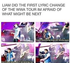 Liam, you are grounded for three weeks! Language like that will not be tolerated here!