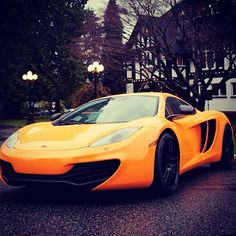 McLaren MP4-12C sweet ride and sweet colour