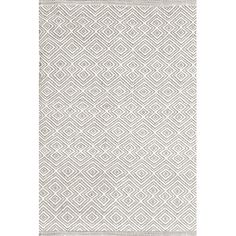 Wayfair Bunny Williams for Dash and Albert Annabelle Grey Diamond Indoor/Outdoor Area Rug
