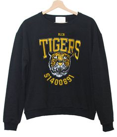 BLCB tigers sweatshirt – newgraphictees #sweatshirt #shirt #sweater #womenclothing #menclothing #unisexclothing #clothing #tups