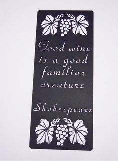 Shakespeare Wine Quotes