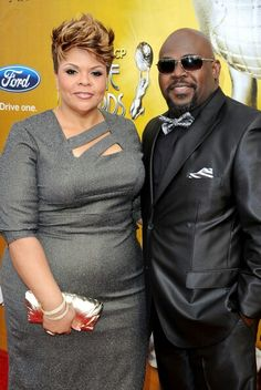 David Mann Tamela Mann Photos Photos - Singer Tamela Mann and husband David Mann pose for a portrait during the NAACP Image awards held at The Shrine Auditorium on February 2010 in Los Angeles, California. Black Love Couples, Cute Couples, Power Couples, Big Girl Fashion, Curvy Fashion, Tamala Mann, Black Celebrities, Celebs, Short Hair Styles